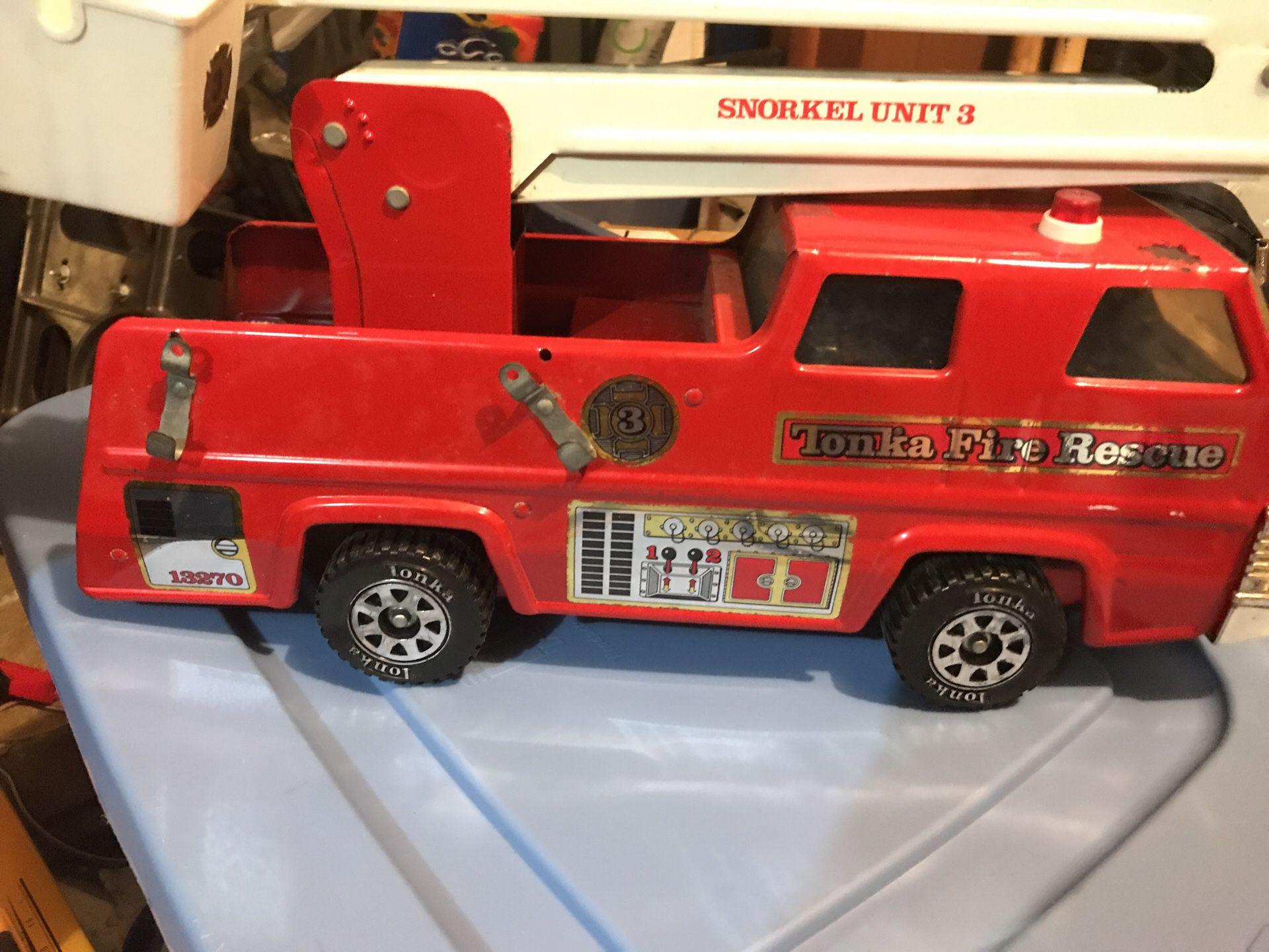 Tonka fire rescue