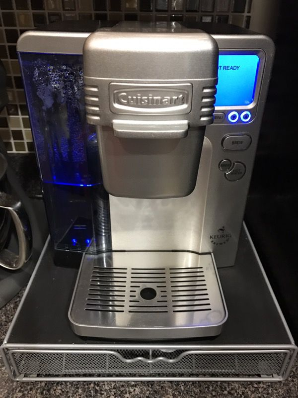 Cuisinart Ss 780 Single Serve Coffee Brewing System With Storage