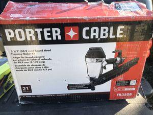 "Photo Porter Cable 3-1/2"" Round Head Framing Nailer"