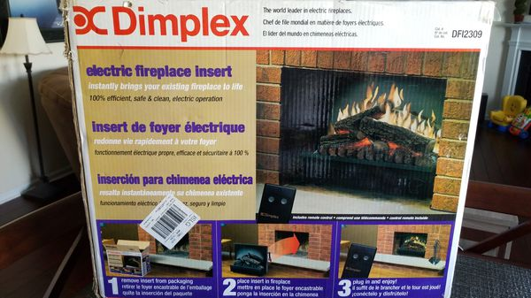 Dimplex Electric Fireplace Insert For Sale In Indian Trail Nc Offerup