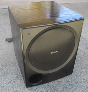 Photo SONY SA-WP780 Powered Active Subwoofer Awesome Sound and Looks Like New!