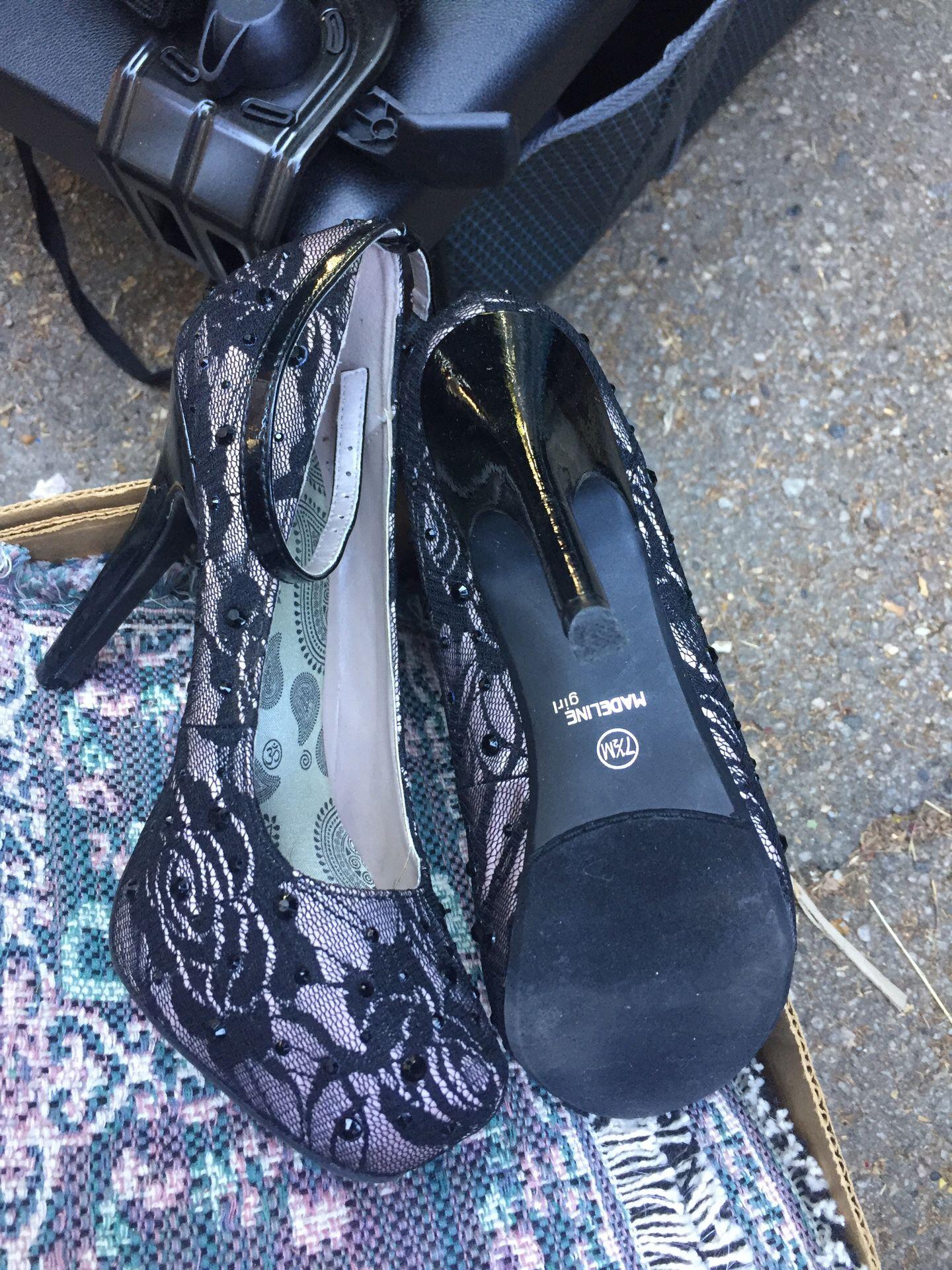 Madeline girl high heal shoes 👠