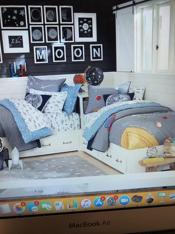 Pottery Barn Kids Belden Beds Two Twins And Matching