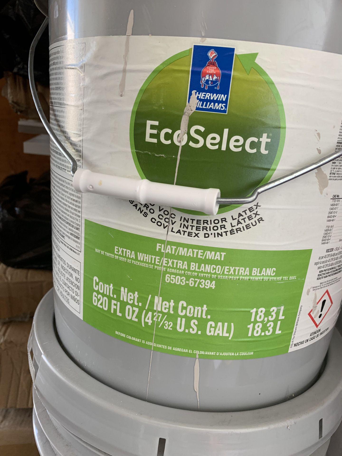 5 galones de pintura beage