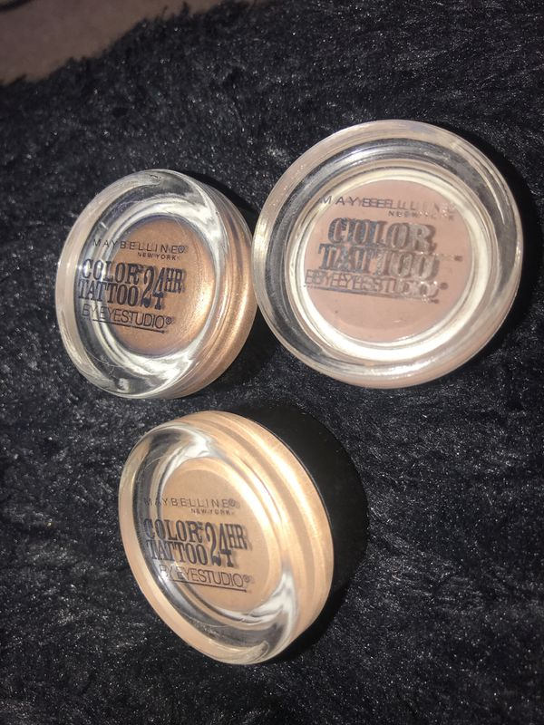 Maybelline color tattoo eyeshadow for Sale in Las Vegas, NV - OfferUp