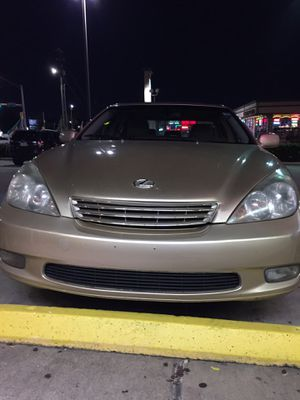 Lexes Es300 Good condition everything works the distance ... 146 miles model 2002 Good condition everything works the distance ... 146 miles Clan Tit for Sale in Houston, TX