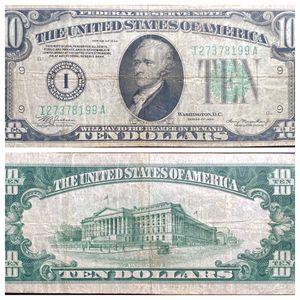 Photo $10 Note Minneapolis United States Federal Reserve Note Series of 1934