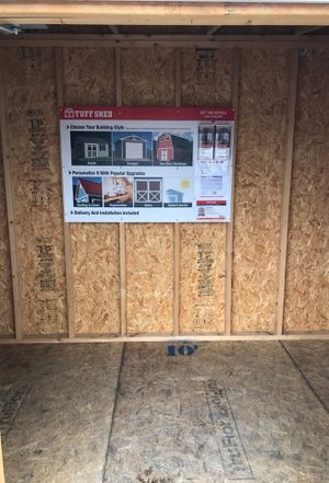 Tuff Shed Lean-to 6X10 was $2,425 now $1,819 for Sale in Moreno Valley, CA  - OfferUp