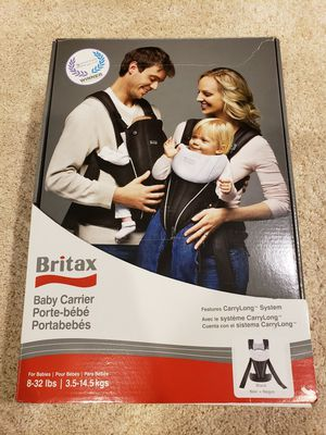Britax Baby Carrier (ergo equivalent) for Sale in Seattle, WA