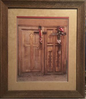Extra Large Prescott, Az Gallery Picture; old wood doors Sante Fe inspired & framed Custom for Sale in Laveen Village, AZ