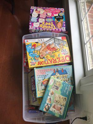 KIDS GAMES, ARTS & CRAFTS, BOOKS, DOLLS for Sale in Brambleton, VA