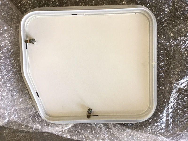 Angle trailer / camper storage hatch compartment door NEW