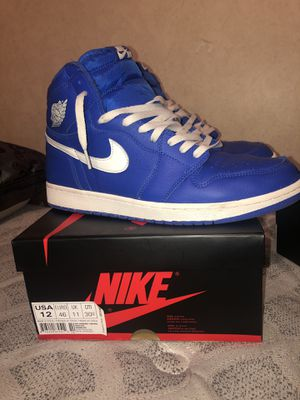 Jordan 1 hyper blue. Adidas nmd, fossil watch for Sale in Pearland, TX