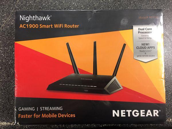 NETGEAR NIGHTHAWK AC1900 Smart WIFI Router - NEW! for Sale in Roanoke, VA -  OfferUp