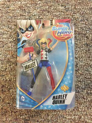 Brand new Dc super hero girls Harley Quinn action figure for Sale in Oviedo, FL