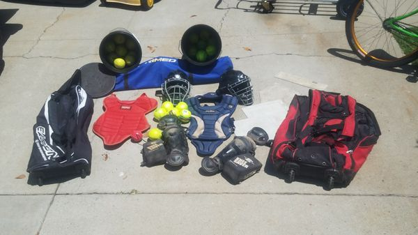 Softball Gear Catchers Bow Net Bags Bases Coaches Dream For Sale