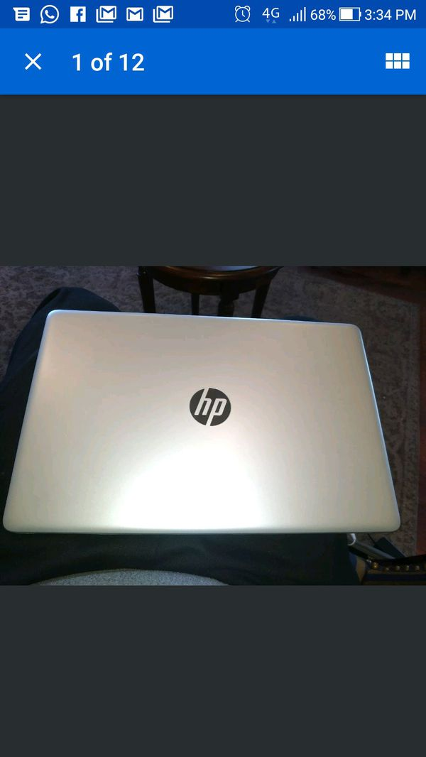 HP 15-DA0032WM 15 6 inch 2 2 GHz Core i3 i3-8130U 4GB DDR4-SDRAM 1TB HDD  Notebook for Sale in West Springfield, MA - OfferUp