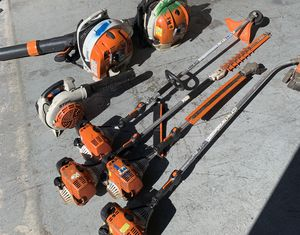 Stihl Hedge Trimmers, String Trimmers, Edgers, Backpack Blowers, and Chainsaws for Sale in Winter Garden, FL