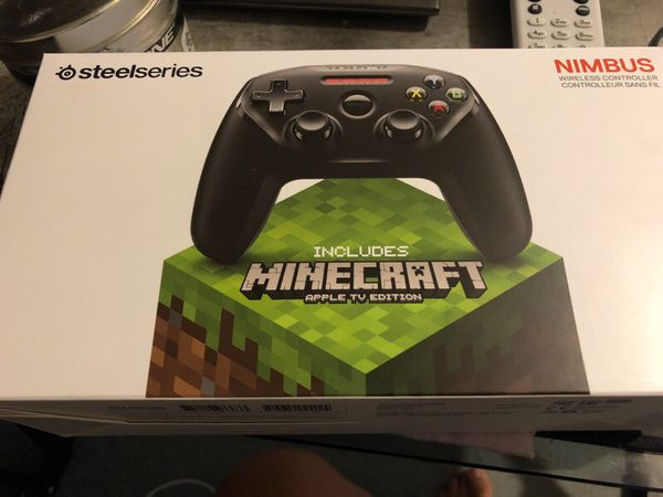 Steelseries Nimbus Controller with Minecraft Games New Sealed for Sale in  Fresno, CA - OfferUp