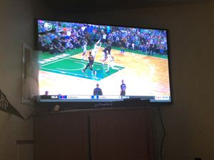 55 Inch Samsung Tv with warranty for Sale in Washington, DC