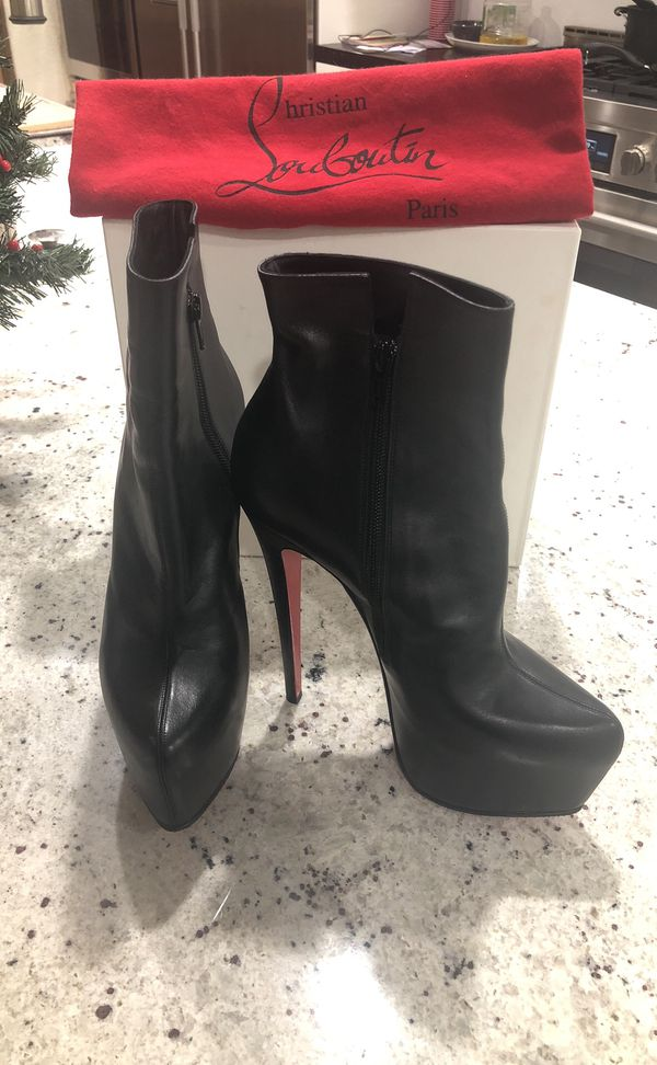 9bfaab4a6c Christian Louboutin ankle boots size 39 for Sale in Las Vegas, NV ...