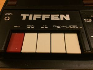 Vintage Tiffen Audio Cassette Recorder/Player for Sale in Salt Lake City, UT
