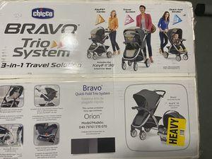 Photo Bravo trío system - Chicco 3 in 1 travel solution