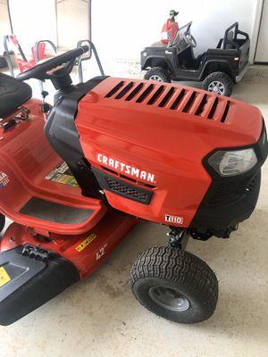 Photo Craftsman 17.5 HP Ride Lawn Mower