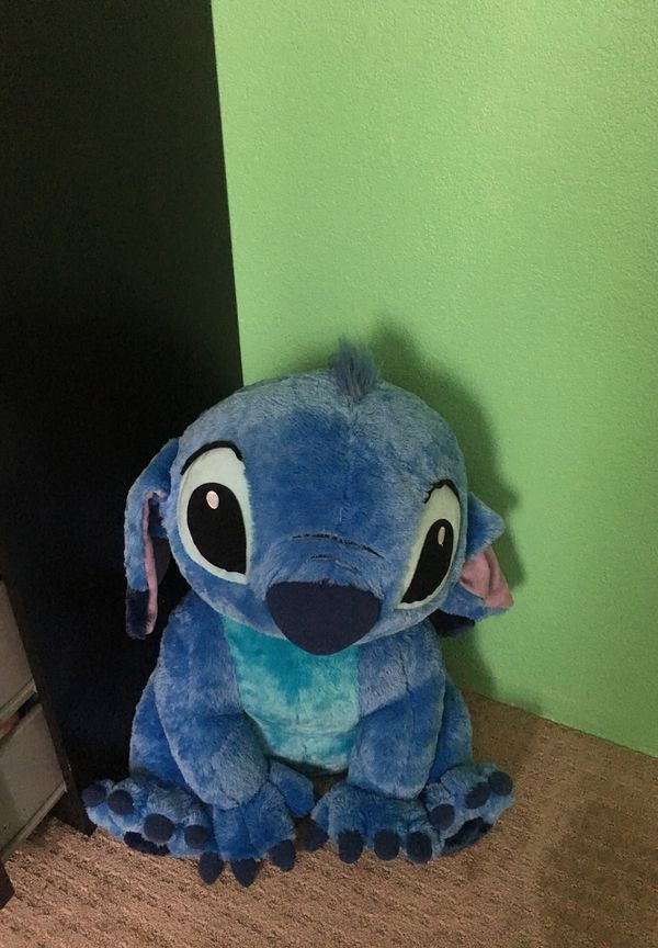 Flounder Stuffed Animal, Giant Disney Stitch Stuffed Animal From Disneyland With Tag For Sale In Alta Loma Ca Offerup