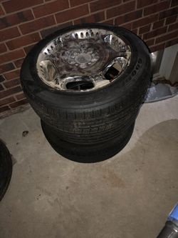 Brand new tires with rims Thumbnail