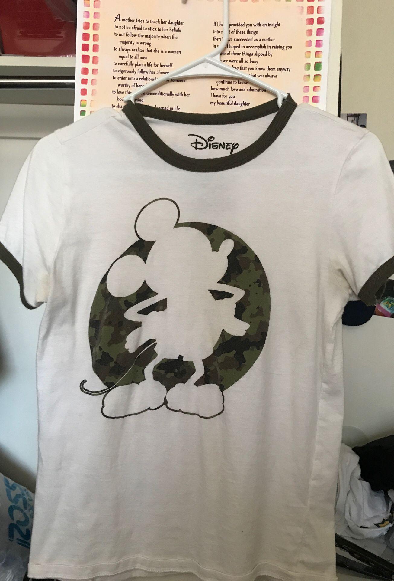Woman's Mickey Mouse Disney shirt