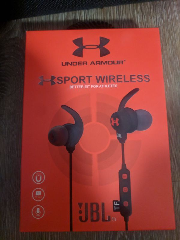00561b3c85a Jbl under armor Bluetooth wireless headphones new for Sale in ...