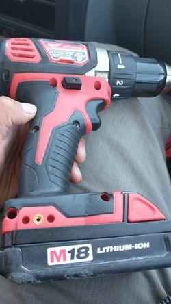 Milwaukee 18v drill Thumbnail