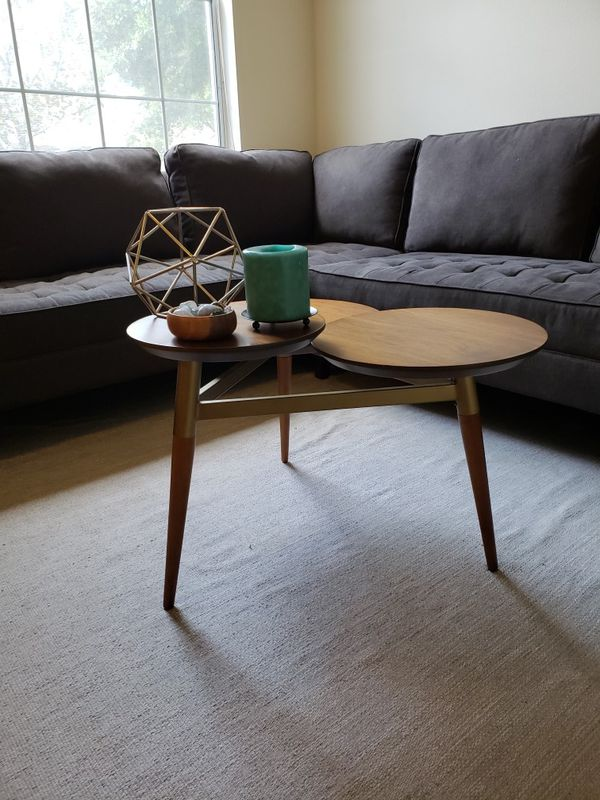 West Elm Clover Coffee Table For Sale In Brandon FL OfferUp - West elm clover coffee table