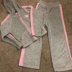 Girls 6x Velour Pants Suit  Thumbnail