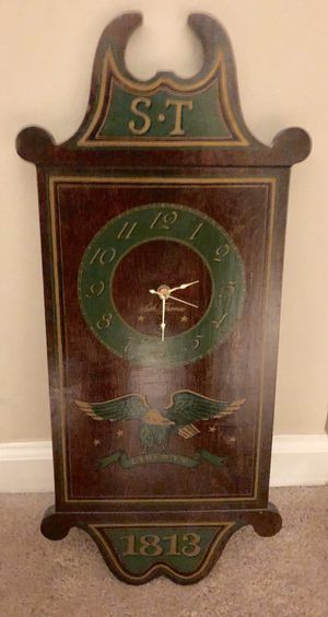 Reproduction antique colonial wall clock for Sale in Atlanta, GA