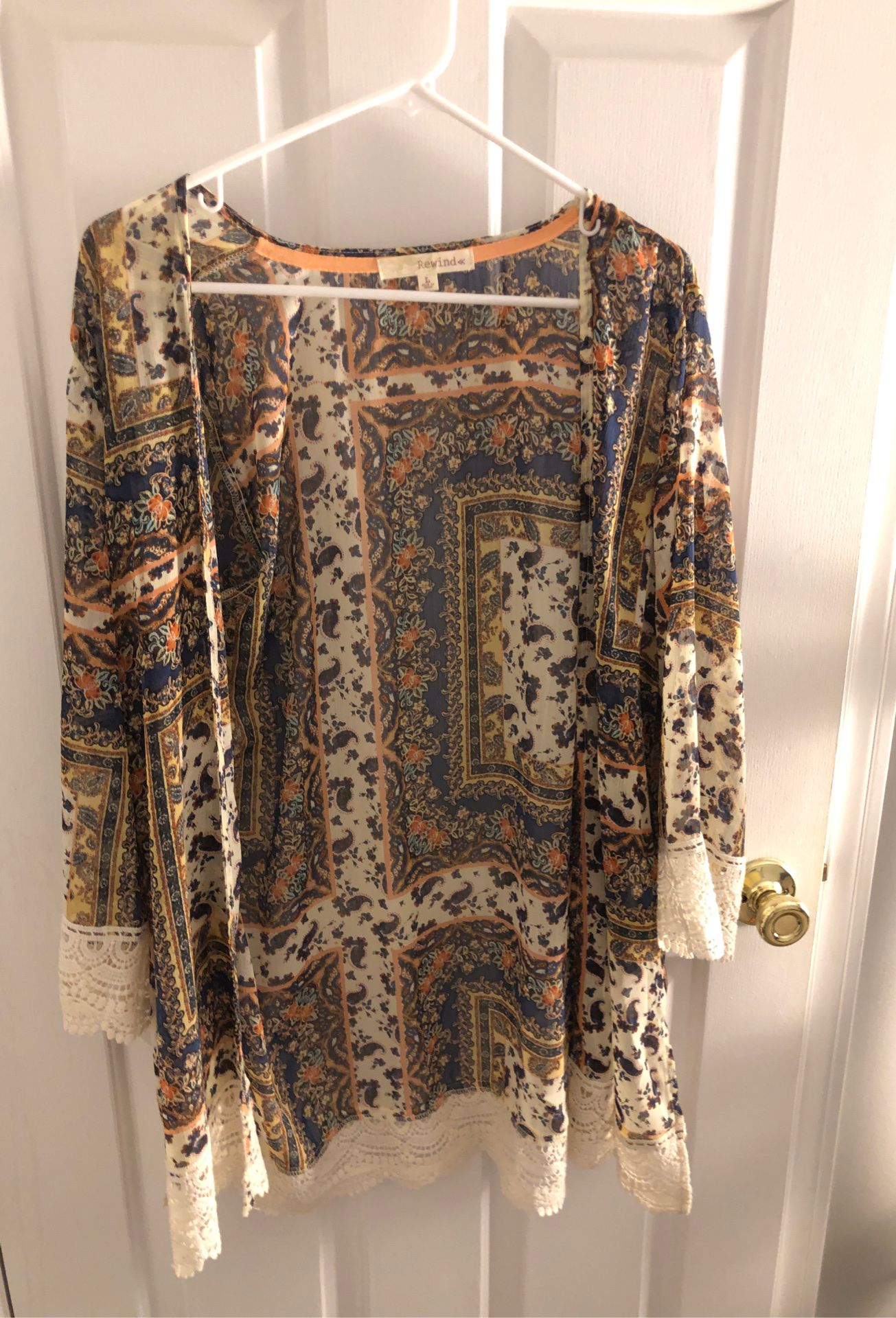Bohemian style Shall/ cover up