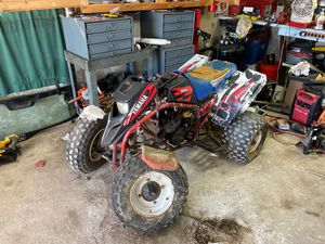 Photo Yamaha blaster for parts
