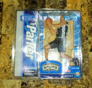 McFarlane Toys NBA 12 Tony Parker (San Antonio Spurs) 6in. Figure for Sale in Phoenix, AZ