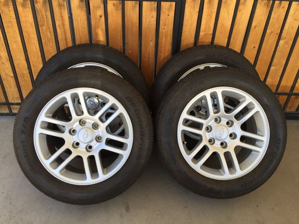 18 Colorado Xtreme Rims W Tires 85 For Sale In Mesa Az Offerup