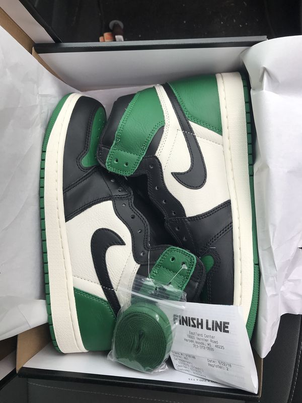 3066ec86cfab27 Jordan 1 Pine Green Size 12 or 11 for Sale in Ann Arbor