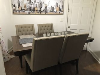 Ashley's furniture 6 Chair &  Table Set Negotiable  Thumbnail