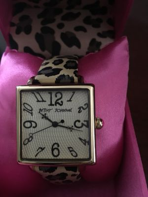 Woman's Betsy Johnson Watch for Sale in Apex, NC