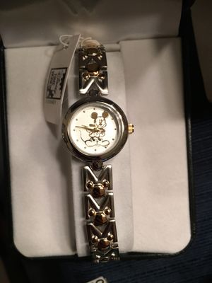 Disney Watch - NEW, tags on, gold and silver design, box included for Sale in Falls Church, VA