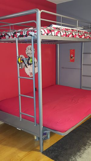 Bunk Beds Queen and Twin converts to Couch for Sale in Pembroke Pines, FL