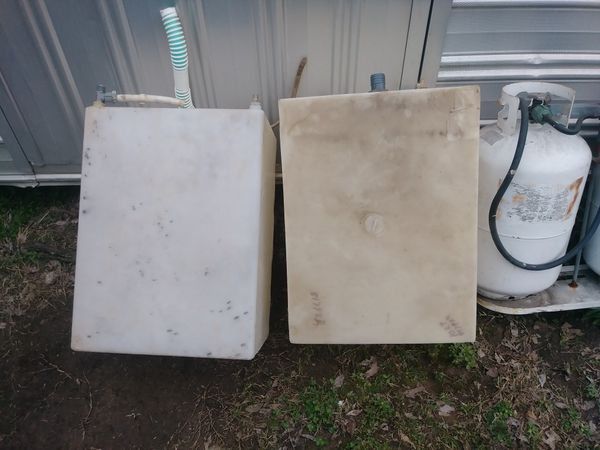 Propane Tanks With Water Tanks Great For Food Truck Or Trailer For