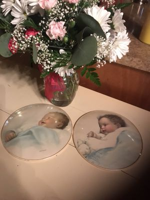 BESSIE PEASE collector bubbles plates RARE for Sale in Sparks, NV