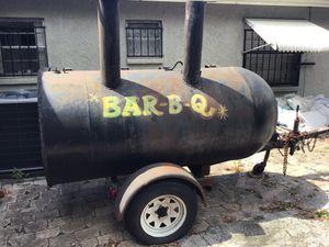 Photo BBQ grill