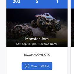 Monster Jam Tickets Thumbnail