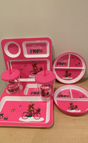 NEW (with labels) kids 6-piece holiday tableware set - please see all pictures for Sale in Alexandria, VA